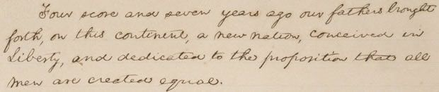 In honor of the 150th anniversary of the famous speech, a Google exhibit lets people view one of the five known copies in Abraham Lincoln's handwriting. Read this article by Lance Whitney on CNET News. via @CNET