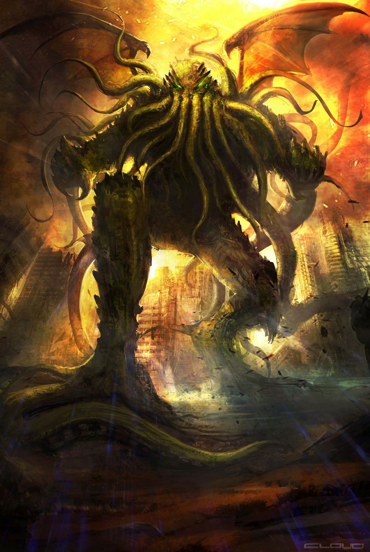 342 best images about Cthulhu and some cool Octopi on ...