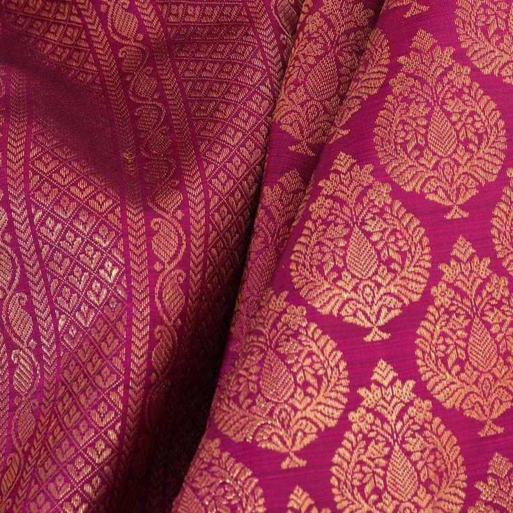 Kanakavalli Kanjivaram Silk Sari 060-01-24079 - Fabric View