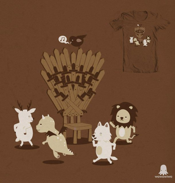 game of thrones cute little dancing animals<<This is exactly what I pictured when I named my GOT board Musical Thrones.