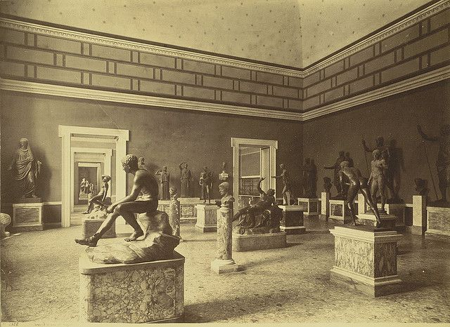 Gallery of Bronzes in the Naples Museum (ca. 1865-1895) (via Cornell University Library)