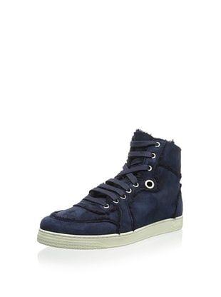 30% OFF Gucci Men's High-Top Sneaker (Blue)
