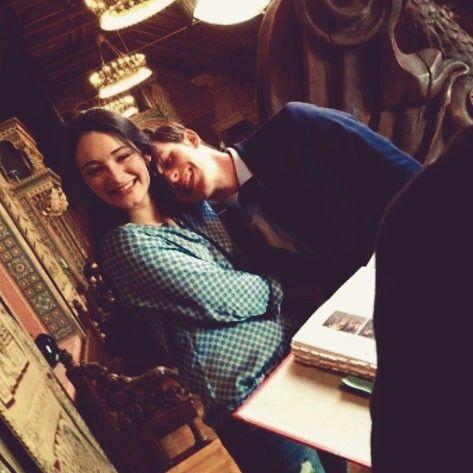 i really love this picture #SapphireBlue #Saphirblau #Gwen&Gideon♡