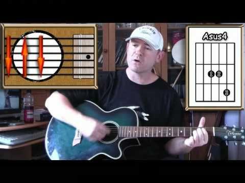 Knocking On Heavens Door - Bob Dylan - Acoustic Guitar Lesson - YouTube