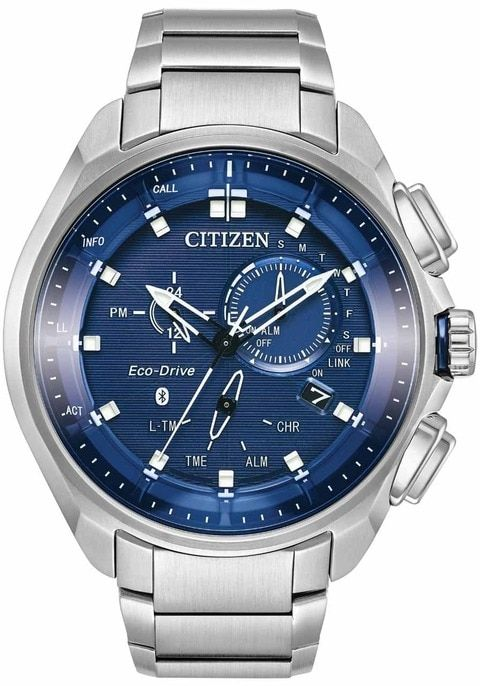 Citizen Eco-Drive Proximity Pryzm Connected Steel Blue