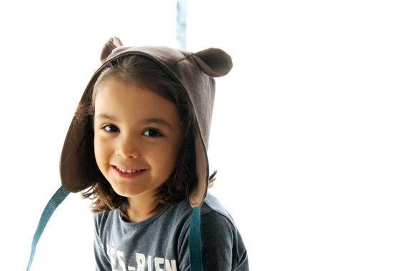 Wild thing ears hat. Kids hood costume bonnet. Dress by bymamma190