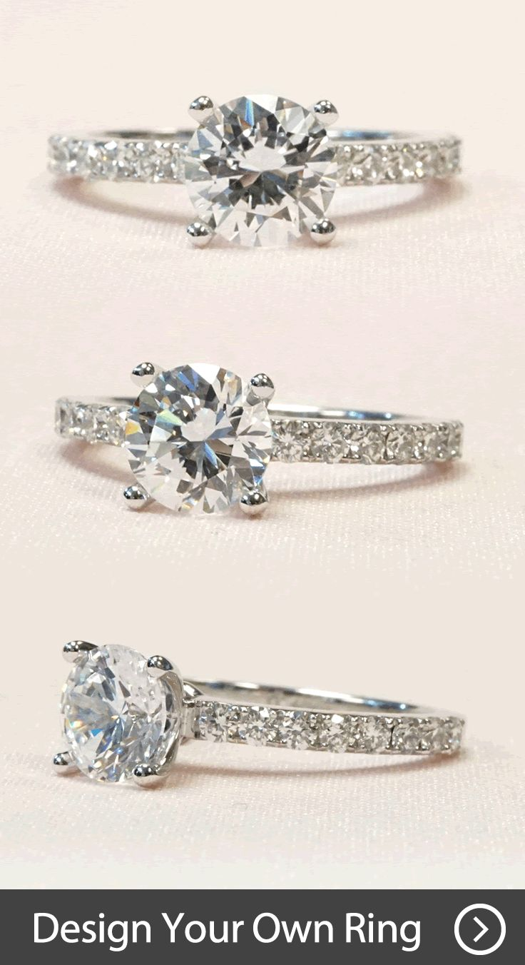 Create Your Own Unique #engagement Ring By Working With Our Talented  Designers We'