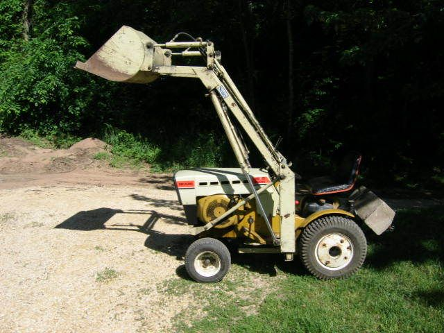 Smallest Garden Tractor With Bucket : Best images about tractor things to build on pinterest