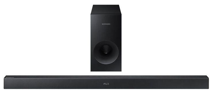 Samsung HW-K360  Description: Samsung HW-K360: Draadloos soundsysteem Met de Samsung HW-K360 heb je prachtig bioscoopgeluid in jouw woonkamer. Deze soundbar geeft een prachtig surround sound zonder kabels en ook het aansluiten op je TV is draadloos dankzij SoundConnect. Alle TV's vanaf 2012 die Bluetooth ondersteunen kunnen draadloos verbonden worden. De subwoofer kun je overal in je woonkamer plaatsen en geeft een geweldig bassgeluid. Jouw favoriete film bekijk je veel intenser met de…