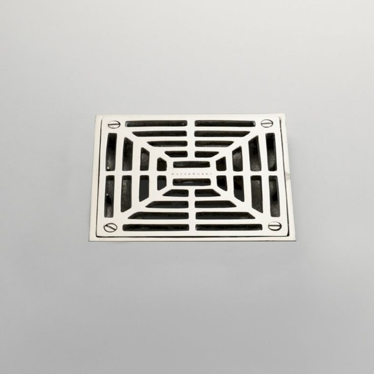 Square Shower Drain Cover Replacement Pvc Squarehead Shower Pan Drain In Chrome Premium