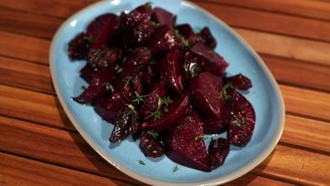 The Chew | Roasted Beets with Dates and Horseradish - ABC.com