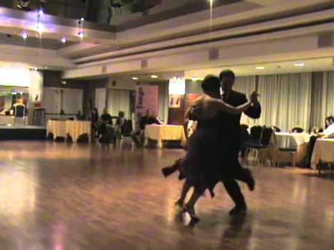 VI Encuentro de Aficionados al Tango 2008 Virginia Pandolfi y Fabian Per...