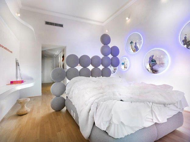 62 best TETES DE LITS u2022 HEADBOARDS images on Pinterest Bedrooms