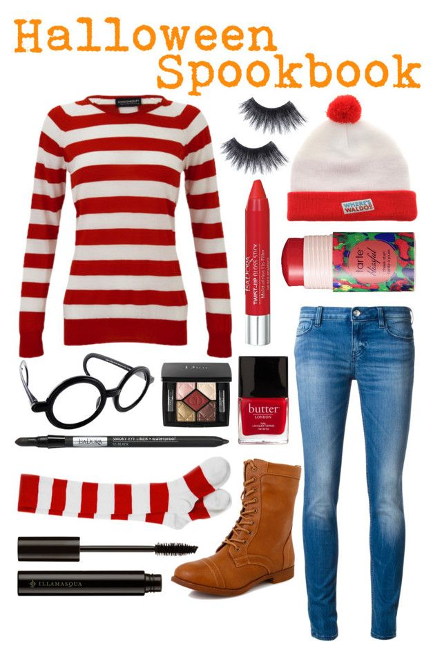 """""""Where's Waldo Costume"""" by itsfashion-5ever ❤ liked on Polyvore"""