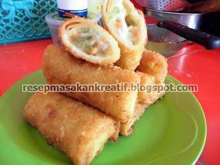 Resep Risoles Keju Mayonnaise | Resep Masakan Indonesia (Indonesian Food Recipes)