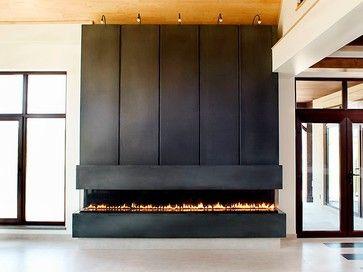 Modern Fireplace Toronto - modern - fireplaces - toronto - Anthony Concrete Design