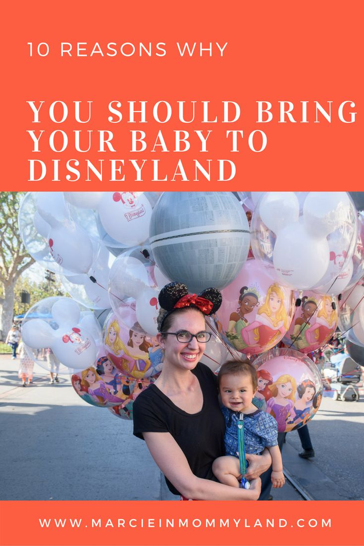 Are you wondering if a Disneyland Resort vacation in California, USA will be enjoyable with a baby? With free admission, rider switch passes and the baby care centers, the answer is yes! Click to find out my 10 reasons why you should bring your baby to Disneyland Resort or pin to save for later. www.marcieinmommyland.com