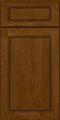 Kraftmaid cabinets square raised panel solid pvb birch in chocolate from waybuild - Kraftmaid bathroom cabinets catalog ...