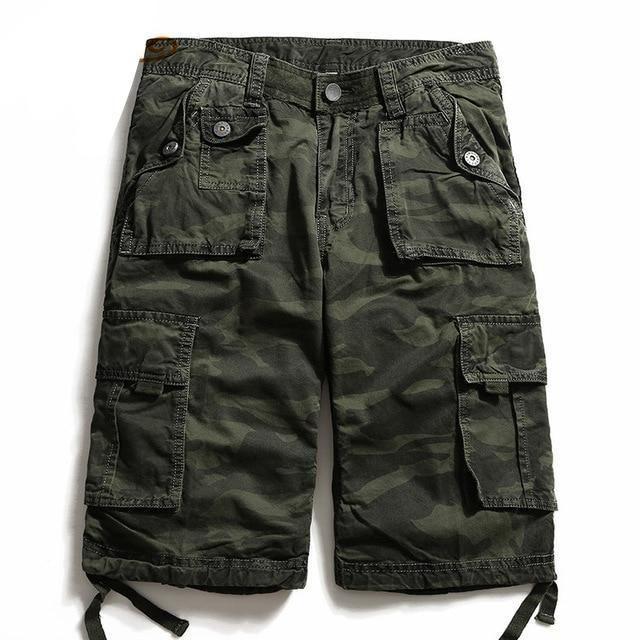 Men Shorts Summer Casual Plus Size Men's Camouflage Short Pants Fashion Loos…