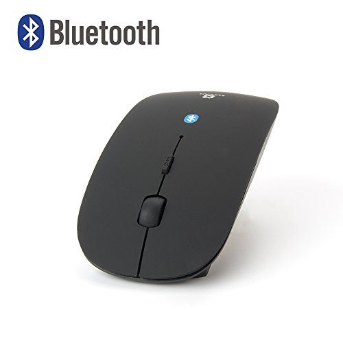 Bluetooth Souris – MAXAH® Bluetooth Souris Optique Sans Fil/ Ultra-slim Bluetooth Wireless Mouse pour ordinateur, tablette, smartephone etc…