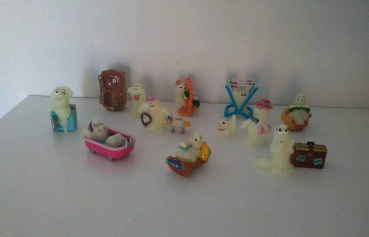 Fantasmini Kinder Ferrero / Sopresine Kinder Ferrero / collezione Kinder sorpresa / Ovetto Kinder Ferrero di VintaFai su Etsy
