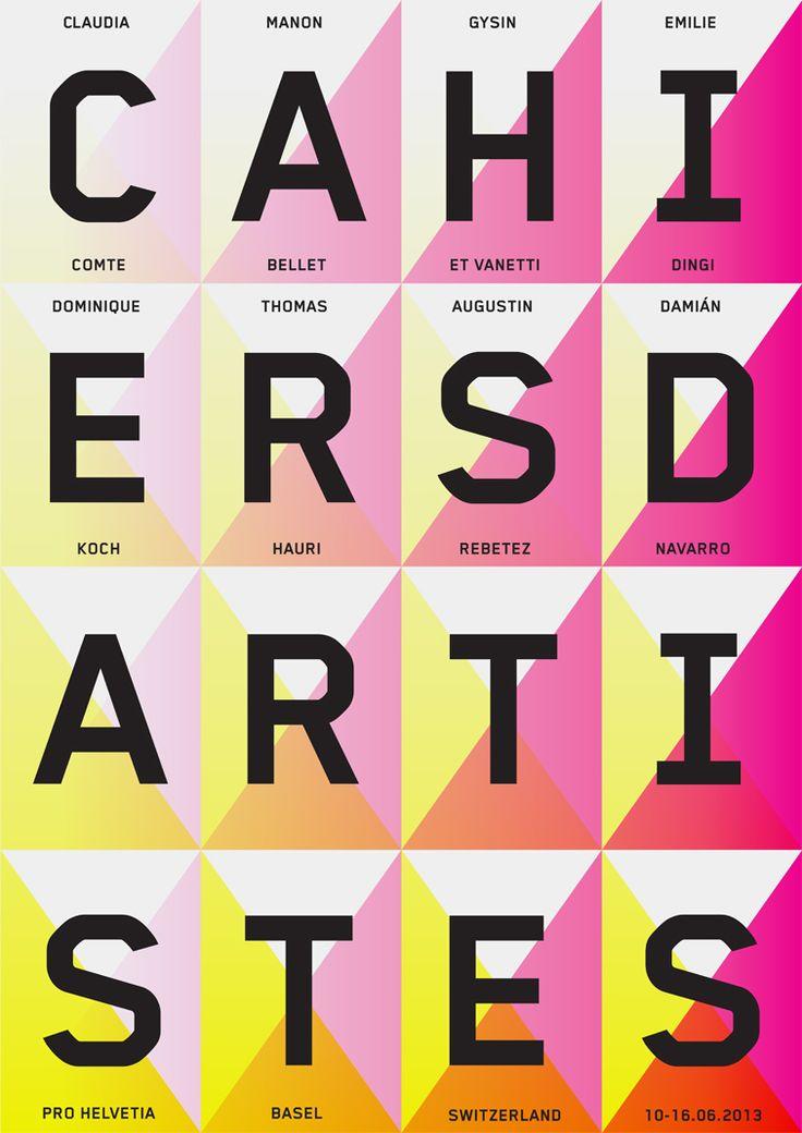 Cahiers d'Artistes (New) : DEMIAN CONRAD DESIGN: