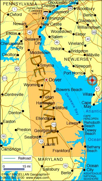 Best Delaware Maps Images On Pinterest Delaware States - Delaware map usa