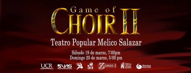 Game of Choir II 2016 - San José, Costa Rica, 19 y 20 de Marzo 2016 ~ Kagi Nippon He ~ Anime Nippon-Jin