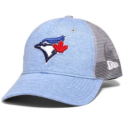Toronto Blue Jays Women's Tri-Blend Trucker Adjustable Cap by New Era