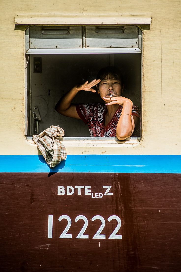train en birmanie thazi kalaw