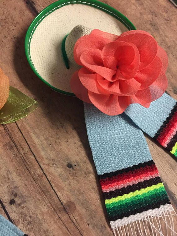 Mexican Hats Sarapes Baby Shower Fiesta Theme Baby Shower