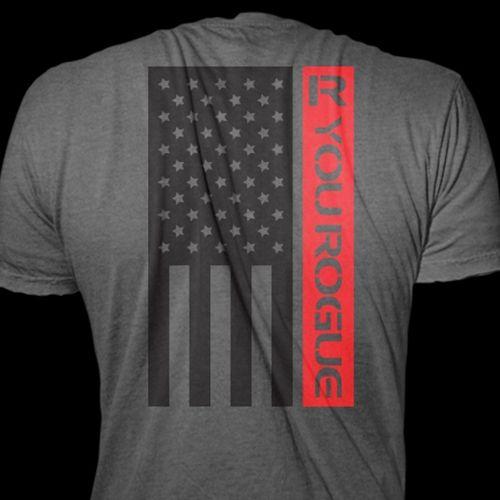 American Flag Mens Shirt