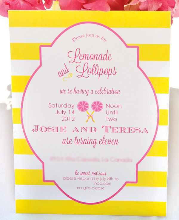 11 best lemonade and lollipops party images on pinterest lemonade and lollipop party cute stopboris Choice Image