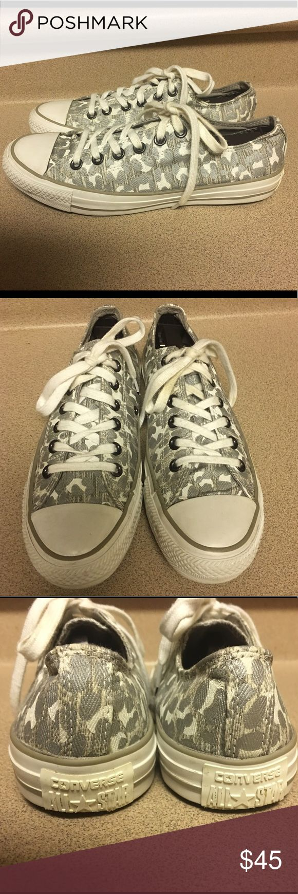 Converse Snow Leopard OX Women's Sz 8.5 Converse Chuck Taylor Snow Leopard OX 540388F Women's Fashion Sneakers Casual Size 8.5 Converse Shoes Sneakers