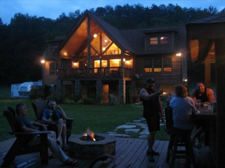 Franklin Vacation Rental - VRBO 245434 - 4 BR Smoky Mountains House in NC, Luxurious Custom Riverfront Retreat on 7 Acres