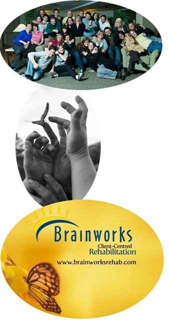 """Mission  """"To enthusiastically lead in interdisciplinary rehabilitation through clinically excellent programs, services & products that reflect compassion for the Brainworks' community"""""""