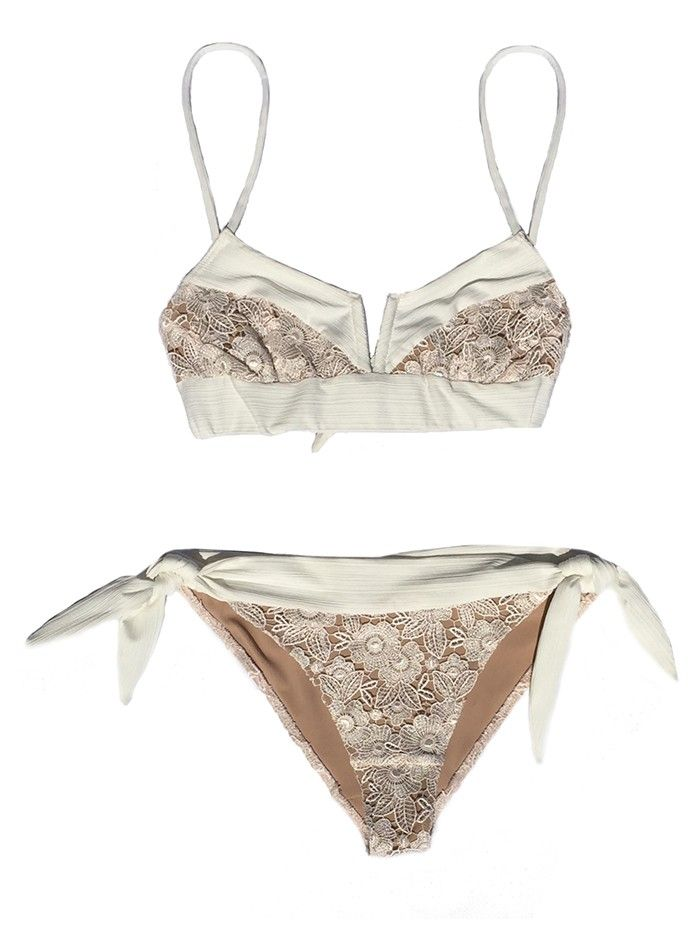 For Love & Lemons Launched Swimwear—Need We Say More? via @WhoWhatWear