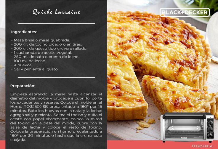 Quiche Lorraine, una receta auténtica y tradicional que puedes disfrutar caliente o fría. ¡Te fascinará!  #RutaDelSaborBD #Francia