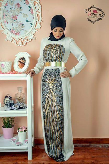 evening hijab dress 16