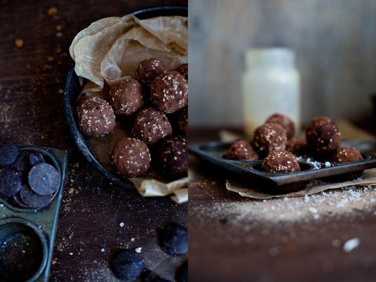 Murmures: Les truffes au chocolat, un avant goût des fêtes !