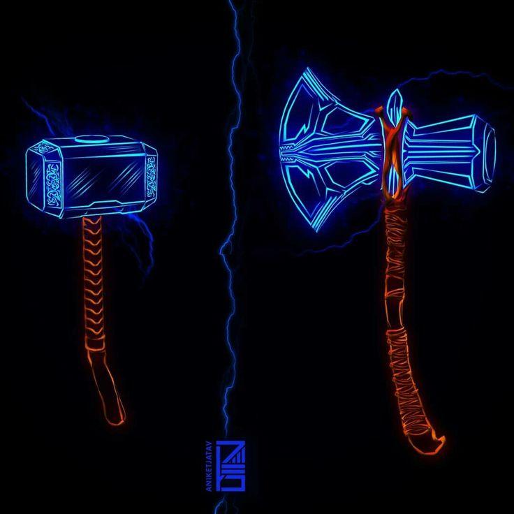 mjolnir stormbreaker comics pinterest marvel thor
