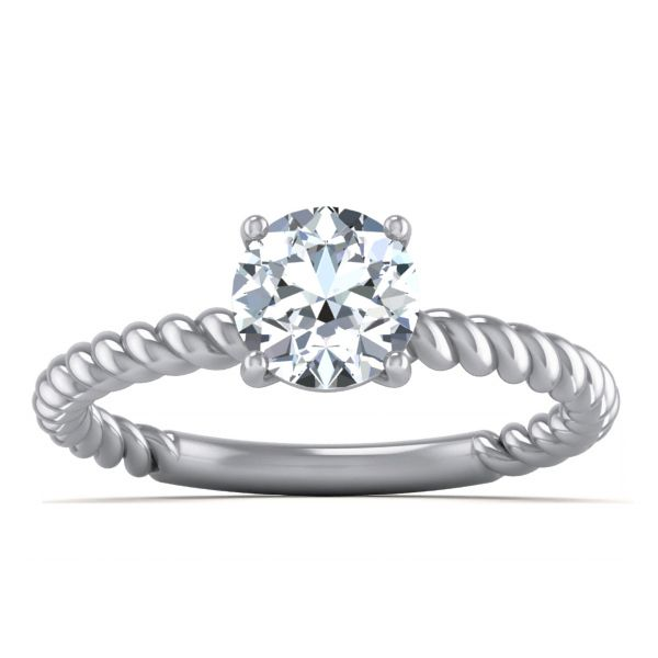 Aura Solitaire Ring