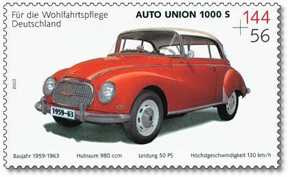 Stamp Germany 2003 MiNr2366 Auto Union 1000 S.jpg