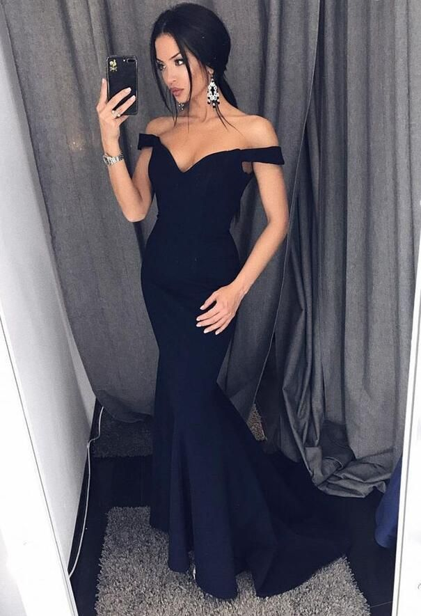 Mermaid Navy Prom Dress Ball Gown Evening Dress Birthday Party Gown Homecoming Dress Long Back To Schoold Party Gown Yp0255 From Yourpromtailor Prom Dresses For Teens Navy Blue Bridesmaid Dresses Mermaid Evening