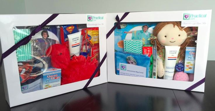 Kid's Chemo Care Kits. $99 from www.practicalcare.com.au