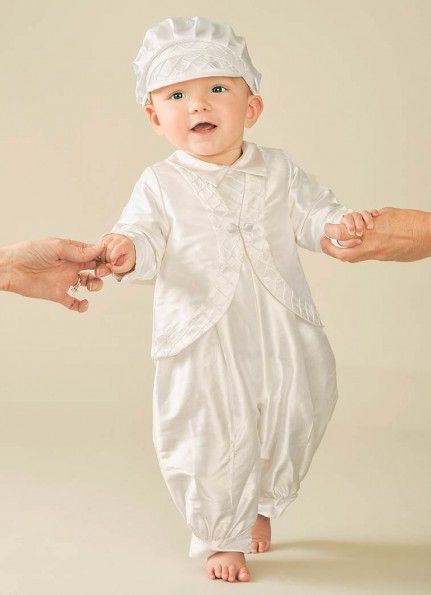 superb outfit for christening in winter box