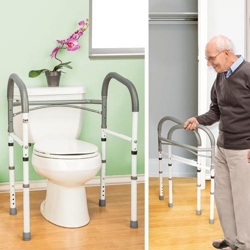 Best Folding Bathroom Safety Rail Better Senior Living 400 x 300