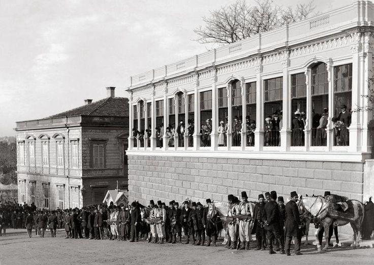 Yıldız Sarayı Seyir Köşkü, 1900 Fotoğraf: Ali Sami Aközer