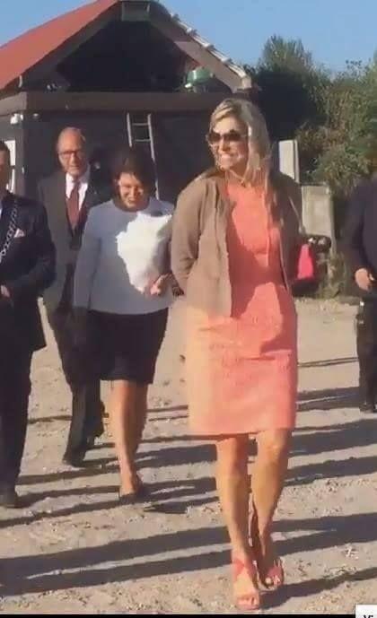 Koningin Máxima brengt werkbezoek aan Zeeland in kader van aquacultuur