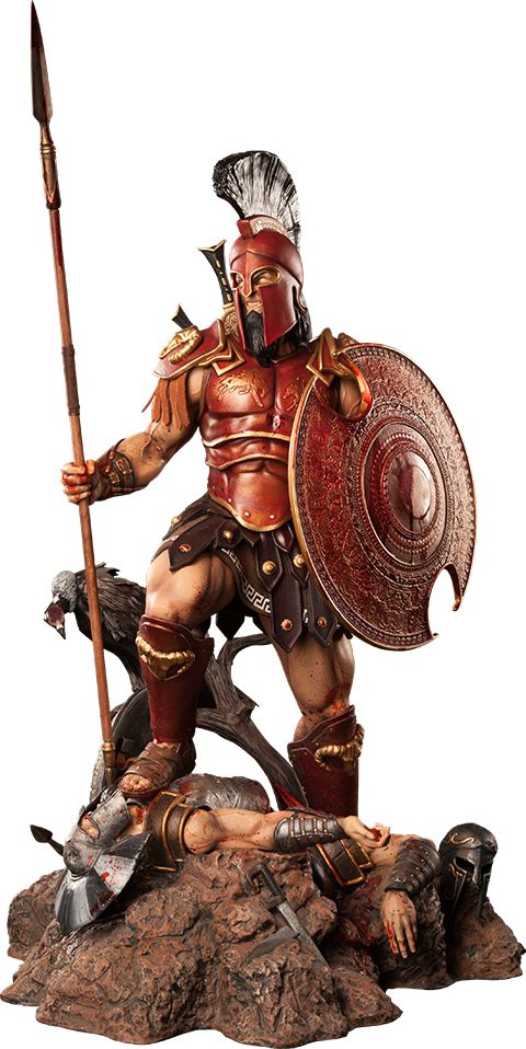 Ares: The God of War Statue.